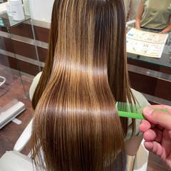 髪質改善 ロング 最新トリートメント 艶髪 ヘアスタイルや髪型の写真・画像