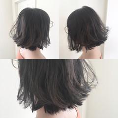 抜け感 外国人風 ボブ ストリート ヘアスタイルや髪型の写真・画像