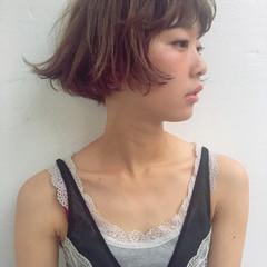 アッシュ ストリート ハイトーン ダブルカラー ヘアスタイルや髪型の写真・画像