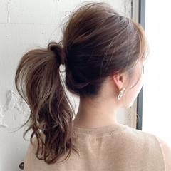 ナチュラル オフィス デート パーティ ヘアスタイルや髪型の写真・画像