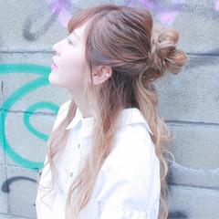 撮影 デート ヘアアレンジ 簡単ヘアアレンジ ヘアスタイルや髪型の写真・画像