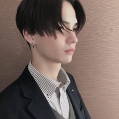 メンズショート 韓国ヘア ショート メンズマッシュ ヘアスタイルや髪型の写真・画像