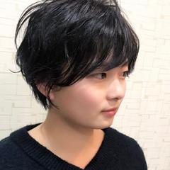 ショート ラフ ナチュラル かっこいい ヘアスタイルや髪型の写真・画像