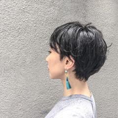 モード 色気 黒髪 大人女子 ヘアスタイルや髪型の写真・画像