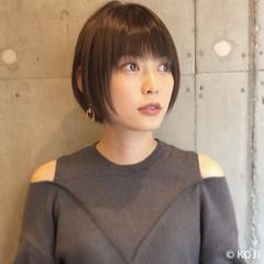 ショートヘア ショートボブ 東京ヘアスタイル 大人ヘアスタイル ヘアスタイルや髪型の写真・画像