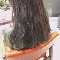 ハイライト ベージュ ヘアアレンジ アディクシーカラー ヘアスタイルや髪型の写真・画像