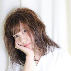 フェミニン こなれ感 ナチュラル かわいい ヘアスタイルや髪型の写真・画像