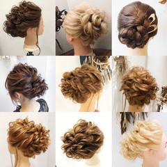 ヘアセット 簡単ヘアアレンジ ヘアアレンジ エレガント ヘアスタイルや髪型の写真・画像