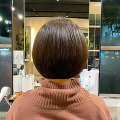 モード ショートボブ ボブ 前下がりボブ ヘアスタイルや髪型の写真・画像