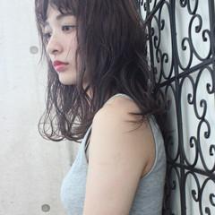 ニュアンス ウェーブ 外国人風 透明感 ヘアスタイルや髪型の写真・画像