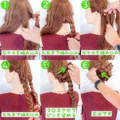 フェミニン 色気 涼しげ ロング ヘアスタイルや髪型の写真・画像