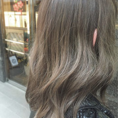 アッシュ ストリート ハイライト 外国人風 ヘアスタイルや髪型の写真・画像