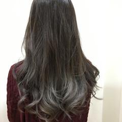 ストリート イルミナカラー グラデーションカラー ロング ヘアスタイルや髪型の写真・画像