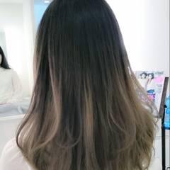 グラデーションカラー パンク ストリート 春 ヘアスタイルや髪型の写真・画像