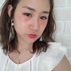 フェミニン デート ヘアアレンジ 色気 ヘアスタイルや髪型の写真・画像