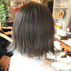 外国人風カラー ボブ グラデーションカラー イルミナカラー ヘアスタイルや髪型の写真・画像