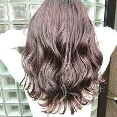 アッシュグレージュ ストリート グラデーションカラー 銀座美容室 ヘアスタイルや髪型の写真・画像