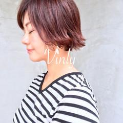 アウトドア ヘアアレンジ 色気 ショート ヘアスタイルや髪型の写真・画像