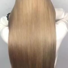 トリートメント 縮毛矯正 ストリート ロング ヘアスタイルや髪型の写真・画像