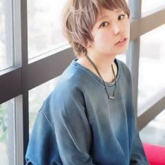 モテ髪 コンサバ 卵型 ショート ヘアスタイルや髪型の写真・画像