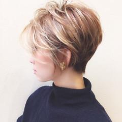 大人かわいい グラデーションカラー ボブ ヘアスタイルや髪型の写真・画像