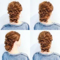 夏 ヘアアレンジ 涼しげ ロング ヘアスタイルや髪型の写真・画像
