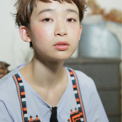 パーマ 前髪あり ショート 外国人風 ヘアスタイルや髪型の写真・画像