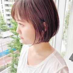 ショートヘア ナチュラル ショートボブ デート ヘアスタイルや髪型の写真・画像