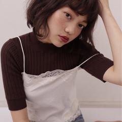 フェミニン 外国人風 ガーリー 前髪あり ヘアスタイルや髪型の写真・画像