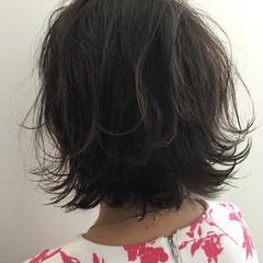 女子会 ミディアム 大人かわいい ゆるふわ ヘアスタイルや髪型の写真・画像