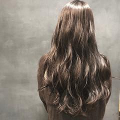 ナチュラル 外国人風カラー ロング 透明感カラー ヘアスタイルや髪型の写真・画像