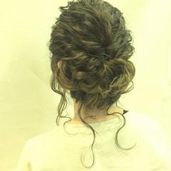 結婚式 ナチュラル デート パーティ ヘアスタイルや髪型の写真・画像