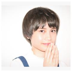 ショートボブ ショート ショートヘア ショートマッシュ ヘアスタイルや髪型の写真・画像