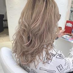 透明感カラー 透明感 セミロング 圧倒的透明感 ヘアスタイルや髪型の写真・画像