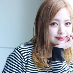 簡単ヘアアレンジ 外国人風カラー ミルクティー エレガント ヘアスタイルや髪型の写真・画像