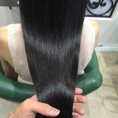 艶髪 ナチュラル トリートメント ゆるふわ ヘアスタイルや髪型の写真・画像