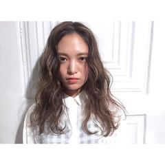 ハイライト ガーリー 外国人風 ロング ヘアスタイルや髪型の写真・画像