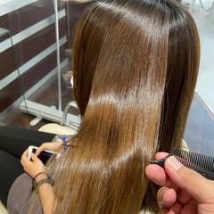 髪質改善 髪質改善トリートメント トリートメント 縮毛矯正 ヘアスタイルや髪型の写真・画像