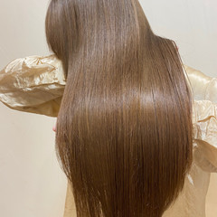 美髪 トリートメント ロング 髪質改善トリートメント ヘアスタイルや髪型の写真・画像