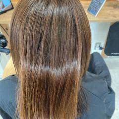 アンニュイほつれヘア 髪質改善 髪質改善トリートメント ナチュラル ヘアスタイルや髪型の写真・画像