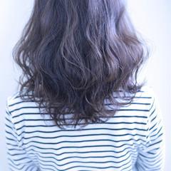 セミロング オフィス 女子会 デート ヘアスタイルや髪型の写真・画像
