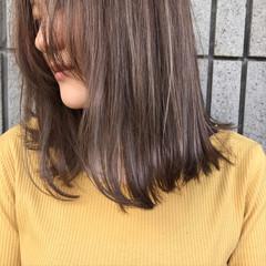ストリート 外国人風カラー 切りっぱなし 秋 ヘアスタイルや髪型の写真・画像