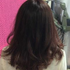 ナチュラル ピンクベージュ ピンクブラウン ロング ヘアスタイルや髪型の写真・画像