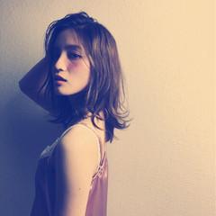 ガーリー ミディアム 外国人風 おフェロ ヘアスタイルや髪型の写真・画像