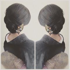 成人式 ロング 結婚式 ナチュラル ヘアスタイルや髪型の写真・画像