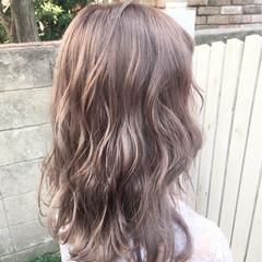 女子会 秋 ナチュラル セミロング ヘアスタイルや髪型の写真・画像