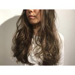 アッシュ 外国人風 大人かわいい ストリート ヘアスタイルや髪型の写真・画像