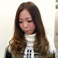 グラデーションカラー 外国人風 大人かわいい アッシュ ヘアスタイルや髪型の写真・画像