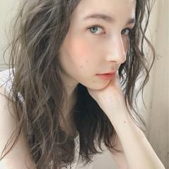 エフォートレス ゆるふわ フェミニン デート ヘアスタイルや髪型の写真・画像
