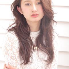 外国人風 大人かわいい ゆるふわ おフェロ ヘアスタイルや髪型の写真・画像